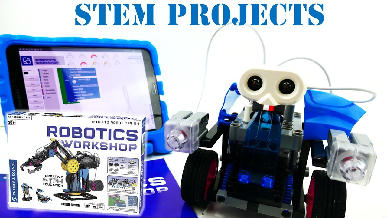 STEM Toys and Projects - Thames & Kosmos Robotics Workshop Kit