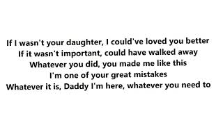Lena If I Wasn't Your Daughter Lyrics