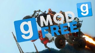 How To Get Garrys Mod For Free With Multiplayer For PC! 2018