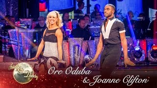 Ore Oduba & Joanne Clifton Jive 'Runaway Baby' By Bruno Mars - Strictly Come Dancing 2016 Final