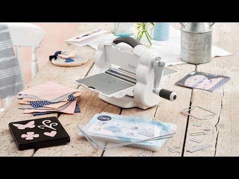 Introducing the NEW Big Shot™ Foldaway Machine! - Sizzix
