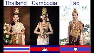 Thai vs Khmer vs Lao. The ASEAN Classical Songs. Laoduangduen vs Sorser Pkay vs Champa Mueng Lao