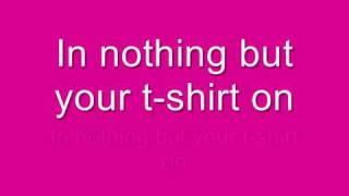 Shontelle - T - Shirt with Lyrics