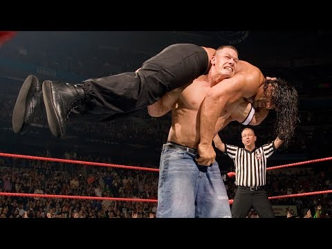 John Cena vs. The Great Khali vs. Umaga - WWE Championship Match: Raw, June 4, 2007