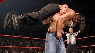 John Cena vs. The Great Khali vs. Umaga - WWE Championship Match: Raw, June 4, 2007