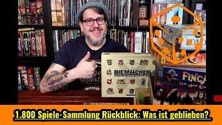 1.800 Spiele-Sammlung Rückblick: Was ist geblieben & Fazit