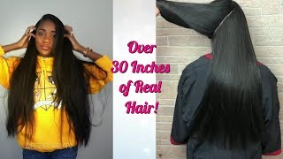 Black Girls Got Inches! | Silk Press Compilation Real Hair