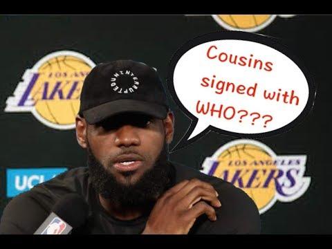 """NBA Players' """"Live Reaction of Big News"""" Compilation"""