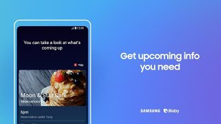 Bixby: How to get upcoming info you need thumbnail