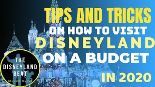 TIPS And TRICKS On How To Visit DISNEYLAND On A BUDGET In 2020: PART 1