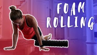 Using a Foam Roller for Recovery | Taylor Cummings by Taylor Cummings