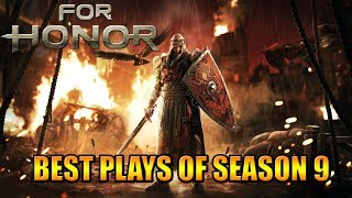 BEST Plays of Season 9 - For Honor the Movie 😜 - 9 Seasons of Determination