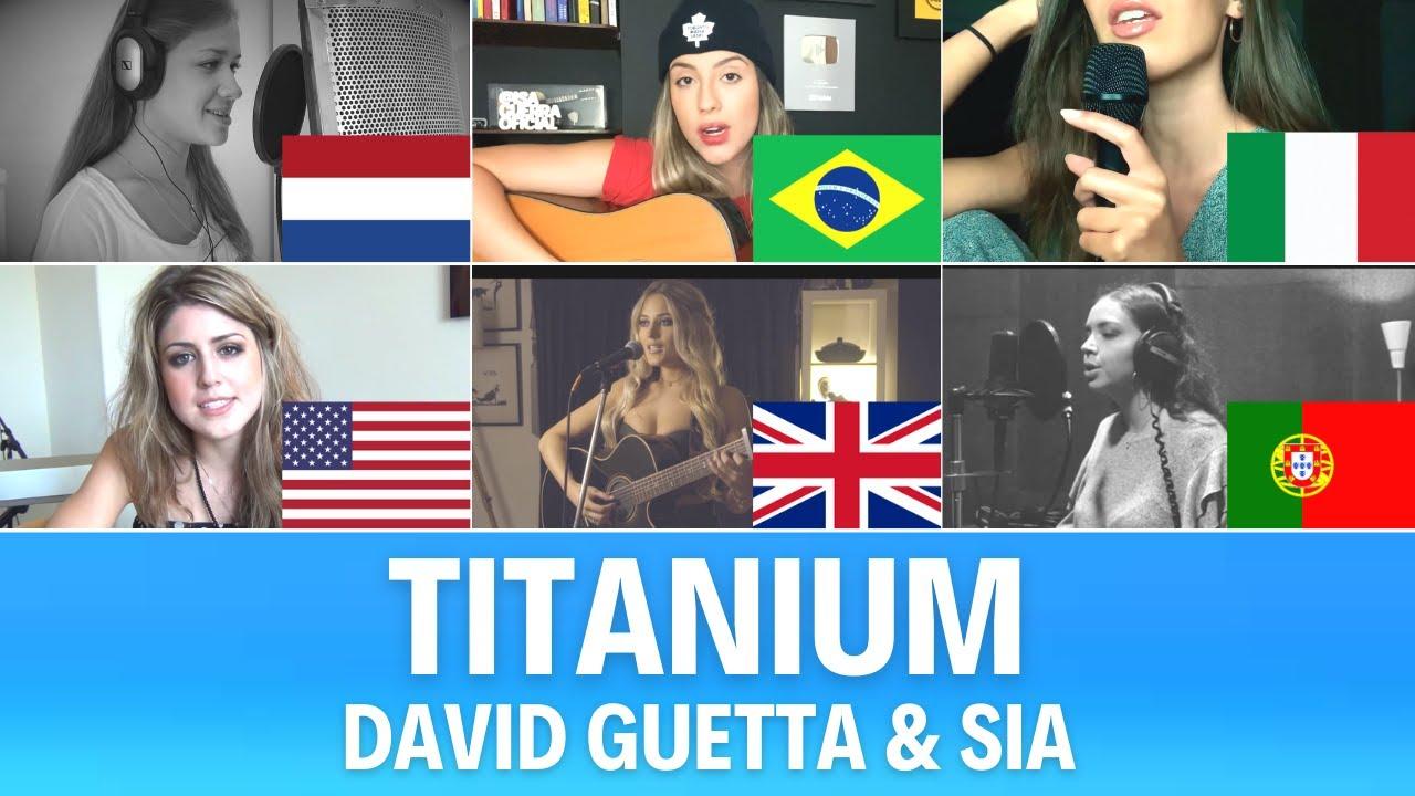 Quem Canta Melhor? Cover Titanium (Brasil, EUA, Itália, Países Baixos, Portugal, Reino Unido)