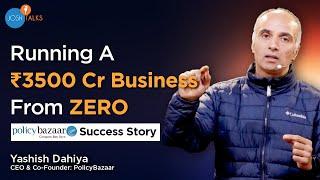 Think Out Of The Box To Become A Successful Entrepreneur | Yashish Dahiya | Josh Talks