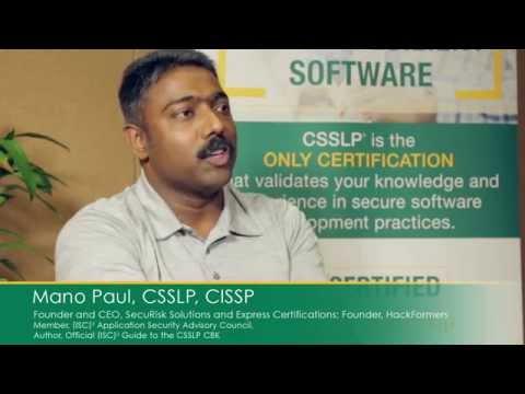 Who Needs CSSLP? - YouTube