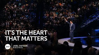 It's the Heart that Matters