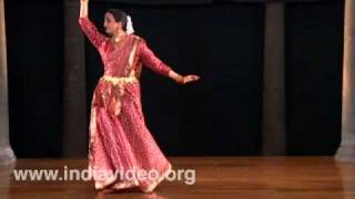 An elegant performance of Kathak by Pali Chandra