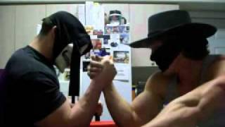 King DeLuXe Armwrestles SuperBeast EPIC!