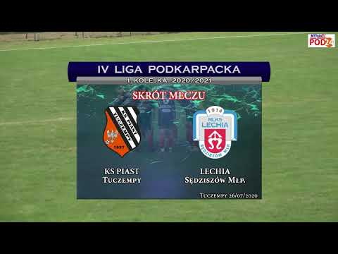 WIDEO: Piast Tuczempy - Lechia Sędziszów Małopolski 3-1 [SKRÓT MECZU]