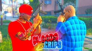 "GTA 5 BLOODS VS CRIPS ""GANG WAR"" (THE MOVIE)"