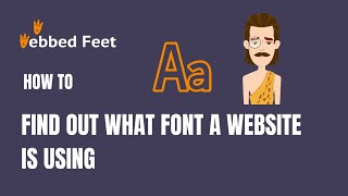 How to Find out What Font a Website is Using