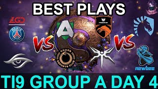 TI9 HIGHLIGHTS Group A DAY 4 PART 1 (The International 9) Dota 2 by Time 2 Dota #dota2 #ti9