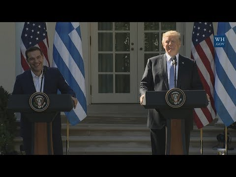 President Trump Holds a Joint Press Conference with Prime Minister Tsipras