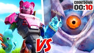 Fortnite Live Event Mecha Robot VS Giant Monster! (Fortnite Season 9 Event Reaction)