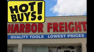 HOT BUYS This Week At Harbor Freight!