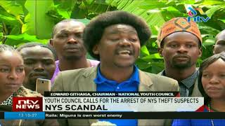 Youth council calls for the arrest of NYS theft suspects
