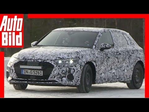 Audi A3/S3 (2019/2020): Erlkönig - Prototyp - erste Bilder
