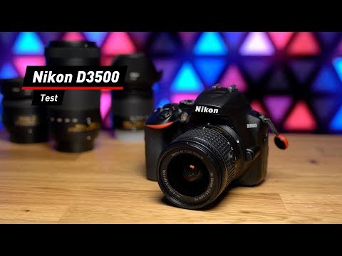 Einsteiger-DSLR: Kompakte Nikon D3500 im Test!