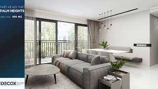 Mẫu thiết kế nội thất căn hộ Palm Heights 105m2 de190105 - Q2
