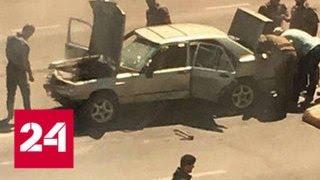 Нападение на полицию в Грозном: в банде были несовершеннолетние - Россия 24