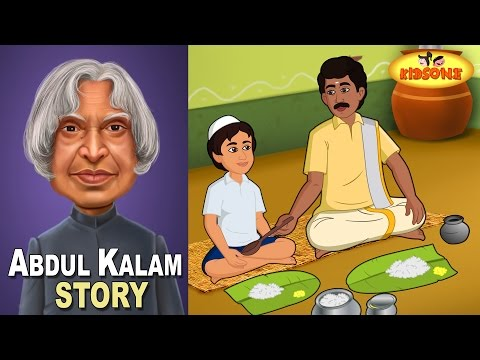 Abdul Kalam | Dinner of My Life | Animated Story For Children