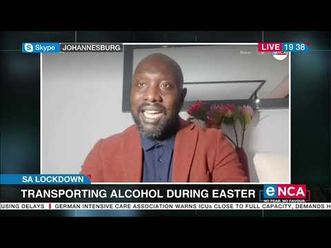 Transporting alcohol during easter