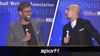 Klopp und Guardiola liefern sich Sprüchefeuerwerk | SPORT1