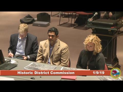 Historic District Commission 1/9/19