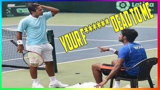 Best Tennis Fights Of All Time! HD 2019!