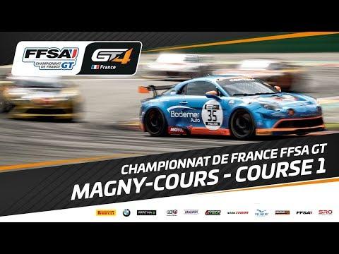 Championnat de France FFSA GT – Magny-Cours – Course 1