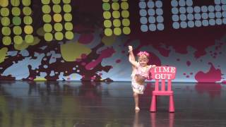 3 Year old Jazz Dance solo