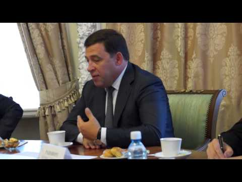 """ХК """"Автомобилист"""" встретился с губернатором"""