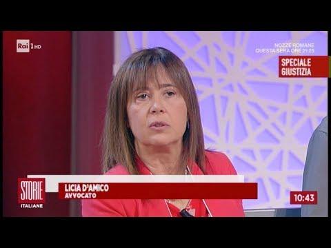 """Malagiustizia: l'avv. Licia D'Amico a """"Storie Italiane"""" Rai Uno"""