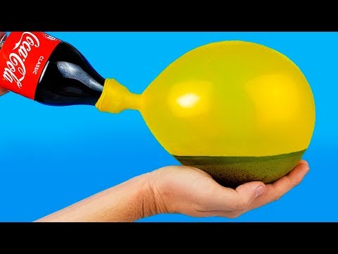 40 AWESOME BALLOON TRICKS!