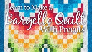 Learn To Make A Bargello Quilt With Precuts | An Annies Online Class PREVIEW