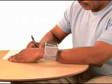 How To Take a Blood Pressure Measurement Using A Wrist Monitor