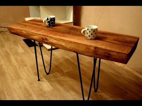 DIY | Live Edge Walnut Coffee Table