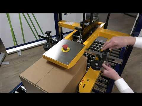 CT 103 SD: Réglage aux dimensions du carton