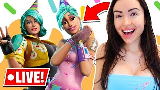 *NEW* Birthday Watch Party! (Fortnite Battle Royale)