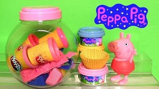 "Funtoys presents Chef Peppa Pig Cupcake Dough Playset new 2014 set using Play Doh. Includes Candy container, 3 Dough packs, 4 Cupcake Molds, 12 Decorative Molds, 24 Cake papers, 2 Cutting Tools, Piping Tool, 2 Spoons and Hours of fun! For ages 3 and over. Set also called: kinder Cupcake teig Spielplatzgeräte Spielzeug Tragetasche, Juguete para niñas plastilina Cerdita Peppa Torta Magdalena. Thx 4 watchin DisneycollectorBR Toychannel. Have ideas for toys dolls playsets just let me know.  Music from Kevin MacLeod.  Peppa is a cartoon for toddlers, infants and preschool children about a female pig that enjoys jumping in muddy puddles. Peppa Pig World includes Daddy Pig, Mommy Pig, George and his Chomposaurus Dinosaur. Here is how she is also called: Porca Peppa, Porquinha Peppa, Cerdita Peppa, 粉红猪小妹, ペッパピッグ, ""Miss Pink Pig"" ""Praščić Pepa"" ""Prasátko Peppa"" ""Peppa Big"" ""Pipsa Possu"" ""Peppa Wutz"" ""Πέππα το Γουρουνάκι""  ""Πεππα το γουρουνάκι"" ""Świnka Peppa"" ""Purcelusa Peppa"" ""Свинка Пеппа"" ""Pepa Prase"" ""Pujsa Pepa""  ""Peppa Gris"" ""Gurli Gris"" ""Gurra Grís"" ""Peppa Pinc"" ""Pepa, la Porqueta"" ""Peppa no buta"" ""Peppa zhū"" ""pink Peppa"" ""Peppa Muc"" ""Peppa Malac"" ""Пепа Прасе"" ""пепа пигс"".  Peppa-Wutz ist eine britische Zeichentrick-Fernsehserie für Kinder. Premiere fand im 2005 im Cartoon Network statt.Peppa Wutz ist ein weibliches Ferkel, das wie die anderen Tiere der Sendung vermenschlicht dargestellt wird.   Check out reviews from Toycollector Blucollection at: https://www.youtube.com/user/Blucollection .  Click to Subscribe DCTC DisneyCollector ToyChannel. https://www.youtube.com/DCtoysCollector  Assista ao Canal Brasileiro de Brinquedos e Bonecas. https://www.youtube.com/BrinquedoseBonecas"